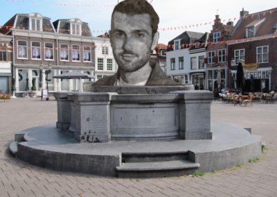 Standbeeld van Duncan Laurence schittert binnenkort op de hof