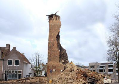 Storm Ciara verwoest Onze Lieve Vrouwetoren, maar de gemeente heeft een plan